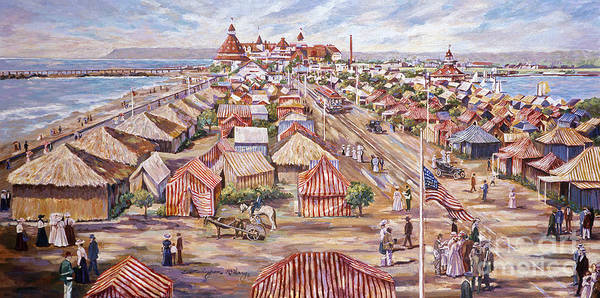 Painting - Tent City by Glenn McNary