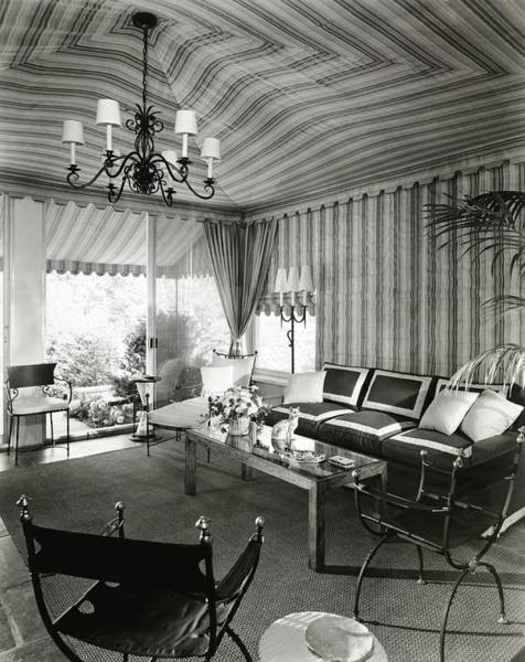 Coffee Photograph - Tented Living Room by William Grigsby