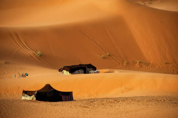 Tent Photograph - Tents In Sahara Desert by Copyright @ Sopon Chienwittayakun