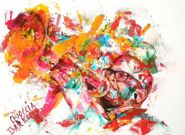 Wall Art - Painting - Terence Blanchard by Massimo Chioccia