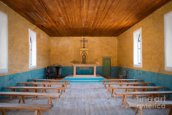 Holy Ghost Photograph - Terlingua Church by Sonja Quintero