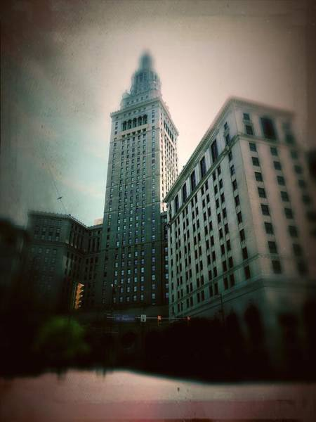 Wall Art - Photograph - Terminal Tower Cleveland by Kenneth Krolikowski