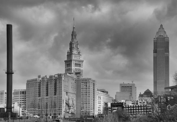 Photograph - Terminal Tower by Guy Whiteley