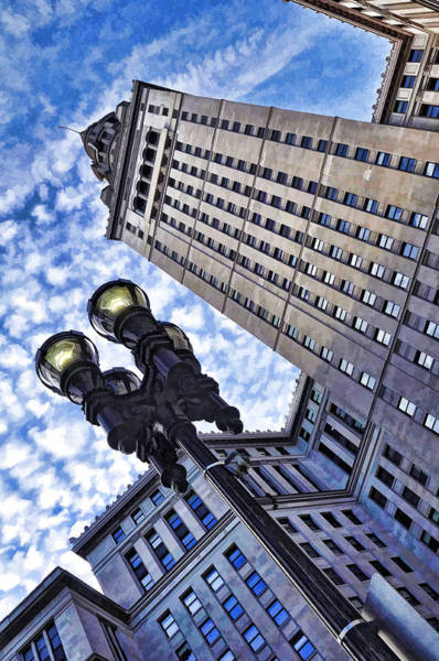 Terminal Tower - Cleveland Ohio - 1 Art Print