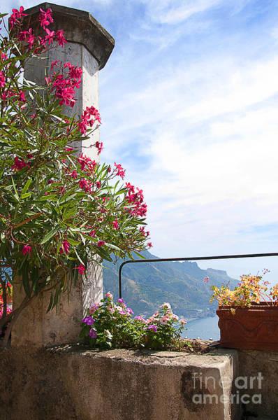 Photograph - Terrace At The Villa Rufolo by Brenda Kean