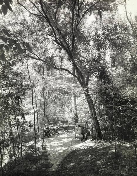 Patio Photograph - Terrace On The Property Of R. L. Stevenson by Tom Leonard