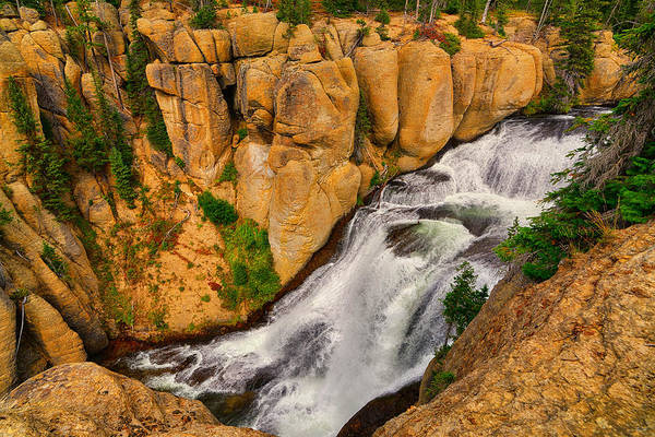Photograph - Terraced Falls by Greg Norrell