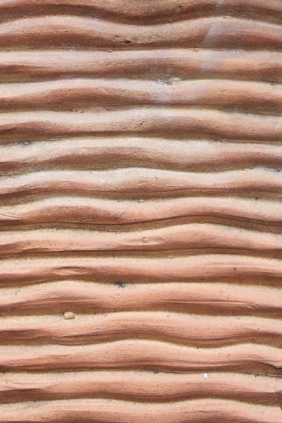 Clay Photograph - Terracotta Background by Tom Gowanlock