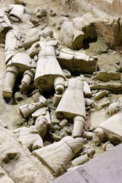 Wall Art - Photograph - Terracotta Warrior Remains by Adam Hart-davis/science Photo Library