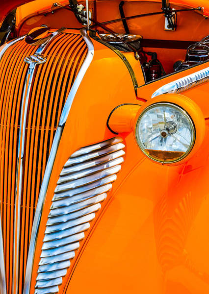 Photograph - Terraplane Grille by Carolyn Marshall