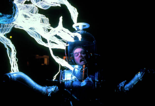 Discharge Photograph - Tesla Coil by Peter Menzel/science Photo Library