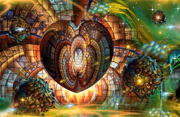 Fractal Landscape Digital Art - Tesserae Too by Phil Sadler