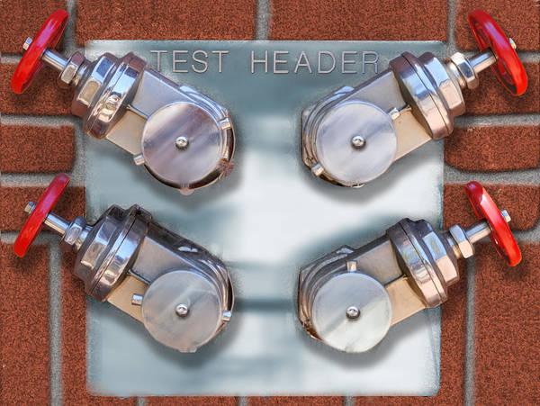 Digital Art - Test Header by Paul Wear