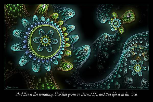 Digital Art - Testimony by Missy Gainer