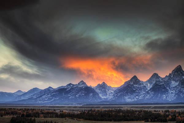 Photograph - Teton Explosion by Mark Kiver