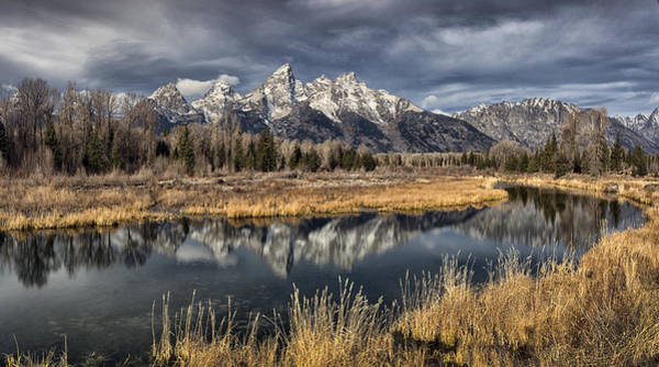 Schwabacher Photograph - Teton Mirror by Robert Fawcett