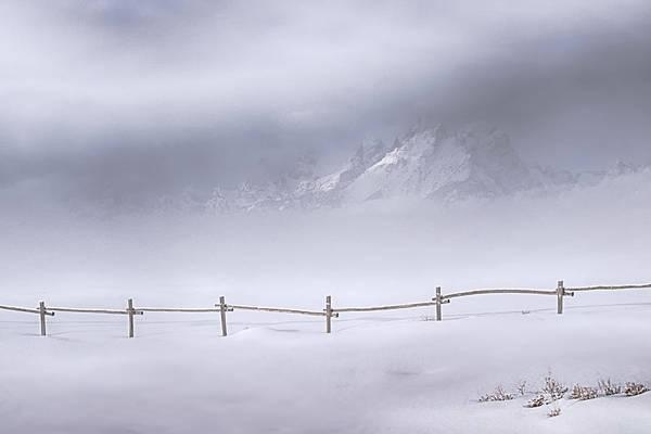 Wall Art - Photograph - Teton Morning by Priscilla Burgers
