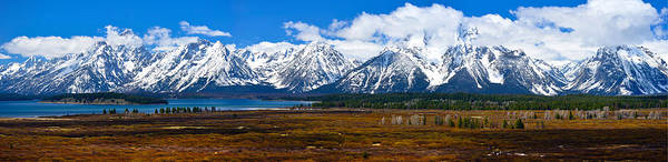 Photograph - Teton Panorama 2012 by Greg Norrell