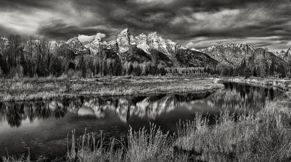 Schwabacher Photograph - Teton Reflection by Robert Fawcett