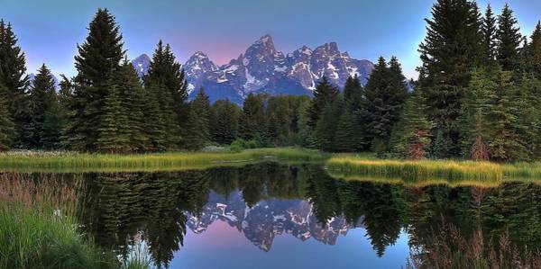 Schwabacher Photograph - Teton Reflections by Ryan Smith