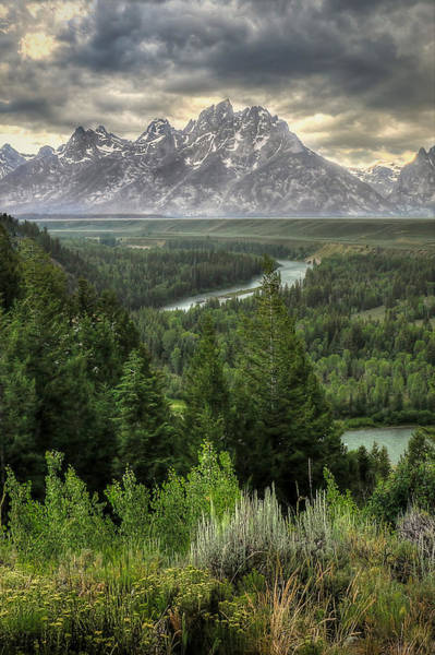 Photograph - Teton Visions by Ryan Smith