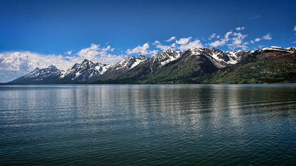 Photograph - Tetons Pano by Jemmy Archer