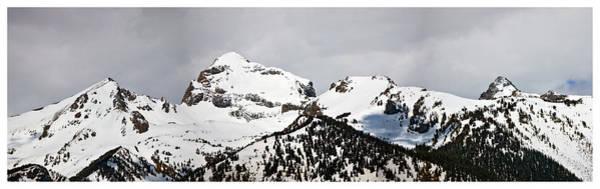 Photograph - Tetons Panorama by Gene Norris
