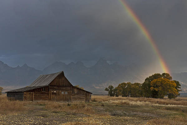 Photograph - Teton's Pot Of Gold by Wes and Dotty Weber