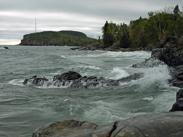Photograph - Tettegouche State Park by James Peterson