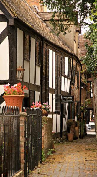 Tudor Photograph - Tewkesbury Baptist Chapel Alley by Stephen Stookey