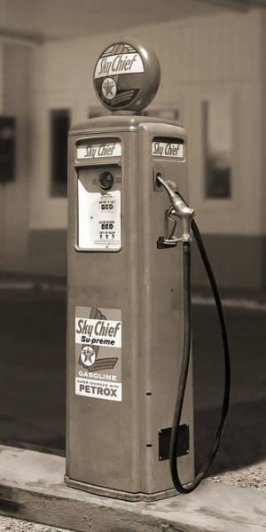 Wall Art - Photograph - Tokheim Gas Pump 2 by Mike McGlothlen