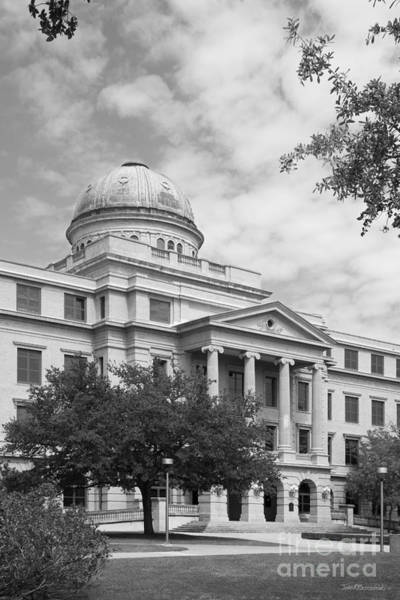 Photograph - Texas A And M Administration Building by University Icons