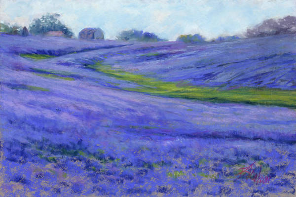 Lone Star Painting - Texas Blue by Billie Colson