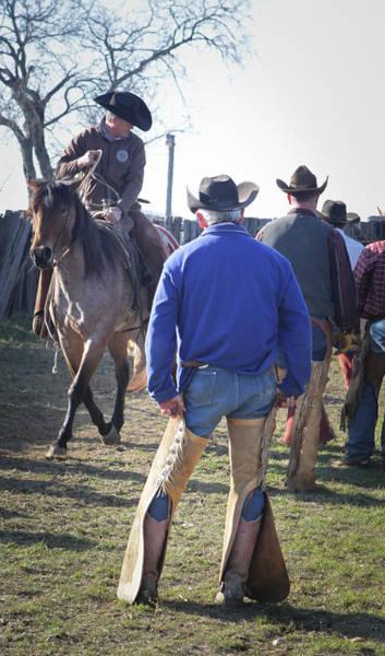 Photograph - Texas Cowboy by Diane Bohna