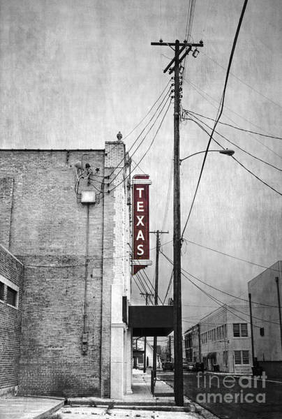 Wall Art - Photograph - Texas by Elena Nosyreva