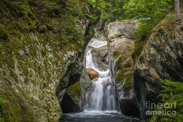 Photograph - Texas Falls Vermont by Susan Cole Kelly