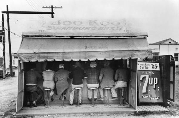 Photograph - Texas Luncheonette, 1939 by Granger