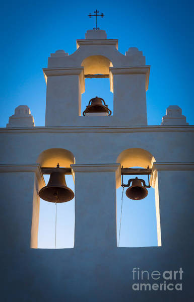 Bell Photograph - Texas Mission by Inge Johnsson