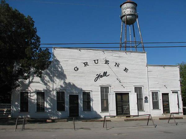 Wall Art - Photograph - Texas Oldest Dance Hall by Shawn Hughes