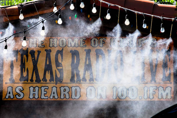 Photograph - Texas Radio In The Mist by Ed Gleichman