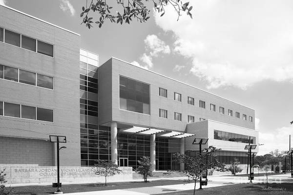 Photograph - Texas Southern University Public Affairs Building by University Icons