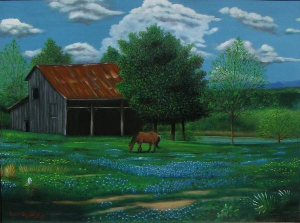 Painting - Texas Spring  by Gene Gregory