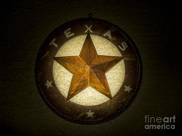 Texas Photograph - Texas Star by Fred Adsit