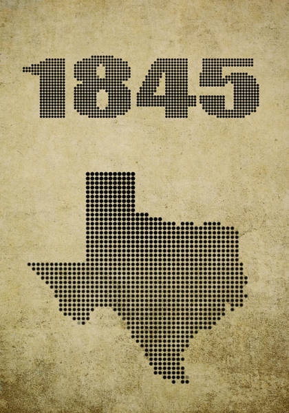 Amarillo Digital Art - Texas Statehood by Daniel Hagerman