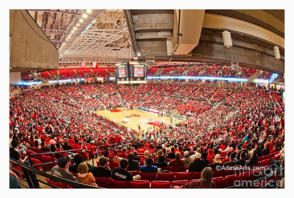 Photograph - Texas Tech Spirit Arena by Mae Wertz
