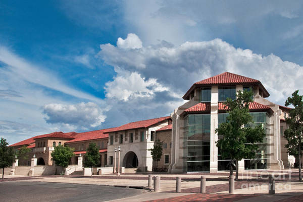 Photograph - Texas Tech Student Union by Mae Wertz