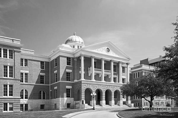 Photograph - Texas Woman's University Old Main by University Icons