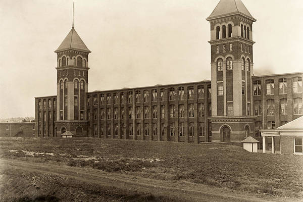 Photograph - Textile Mill, 1908 by Granger