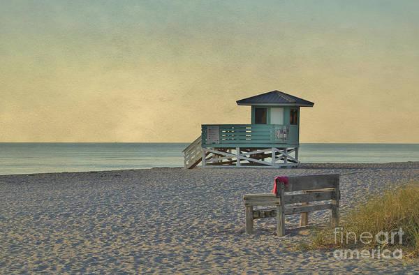 Photograph - Textured Sunset by Karin Pinkham