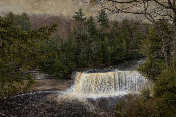 Textured Tahquamenon River Michigan Art Print